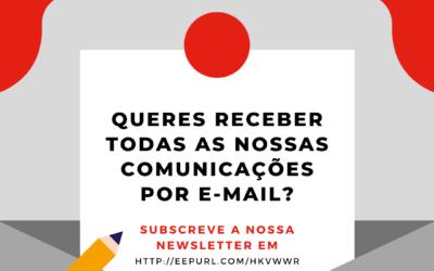 Queres receber todas as nossas comunicações por e-mail?